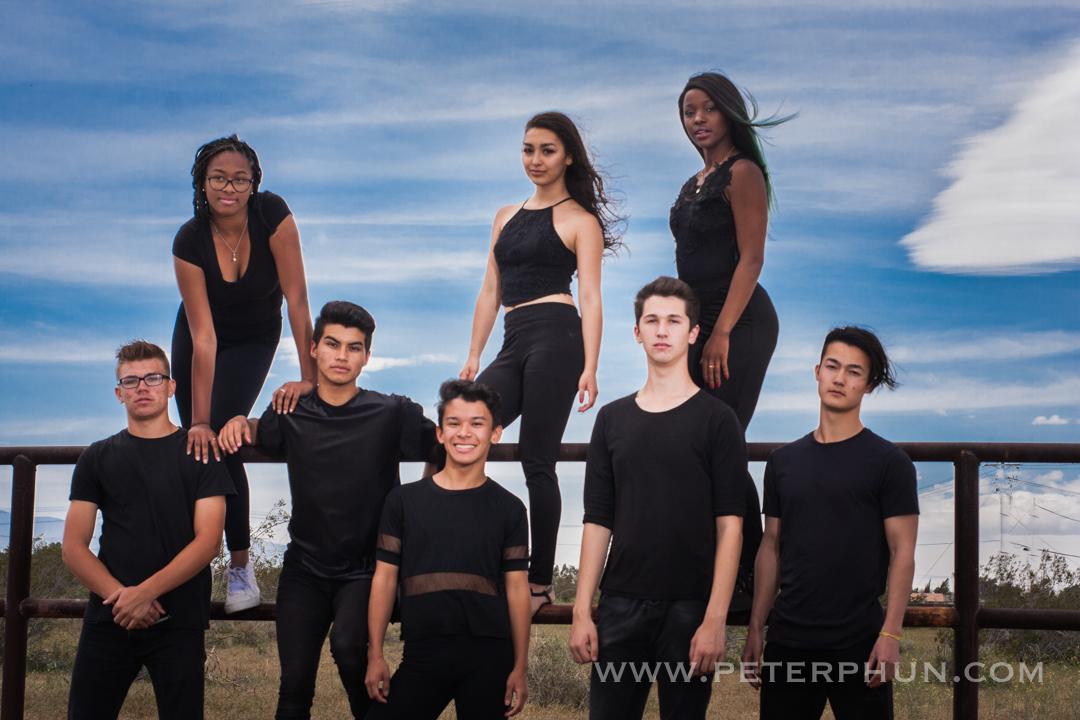Dancers from Encore High School, Hesperia