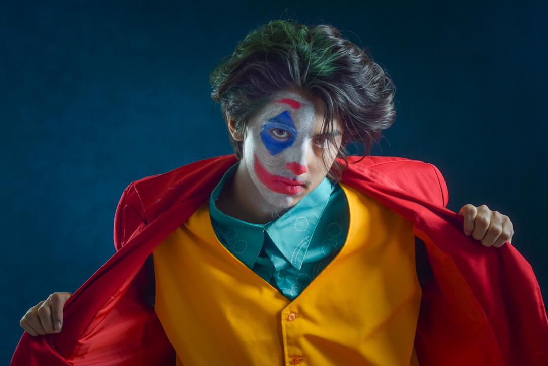 Juan as the Joker by Jesus Rodriguez