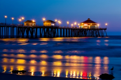 Pier at Huntington Beach by Amber Arbello