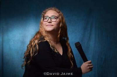 David Jaime captured this portrait of singer. El Modena High