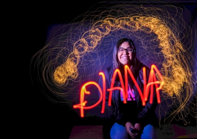 Diana V by classmate Raylene Rodriguez. El Modena High School