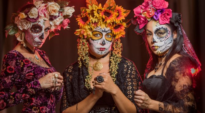 Day of the Dead photoshoot 2016